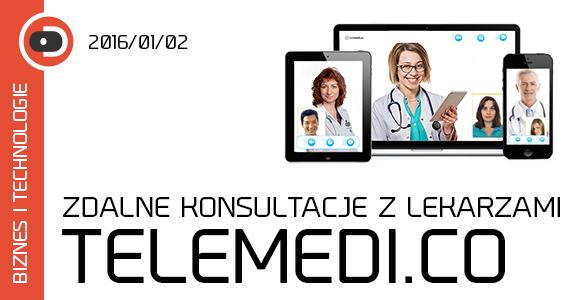 Telemedi.co zdalne konsultacje z lekarzami