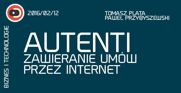 Autenti - Zawieranie umów przez internet