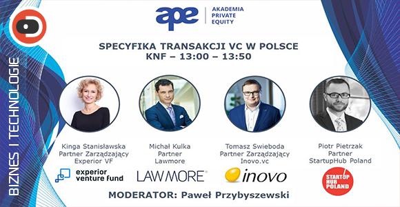 Akademia Private Equity - Specyfika transakcji VC w Polsce