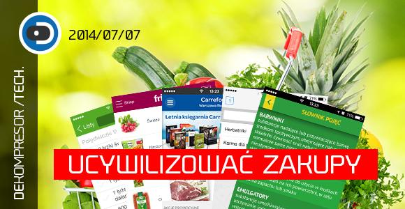 Ucywilizować zakupy - aplikacje zakupowe - lista zakupów