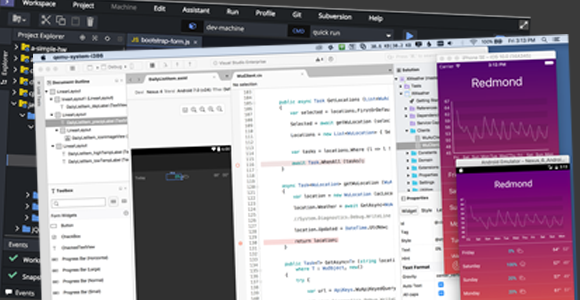 Eclipse Che, Visual Studio for Mac, Windows Subsystem for Linux