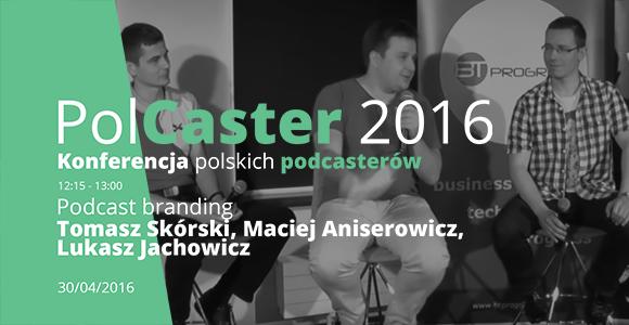 PolCaster 2016: Podcast branding